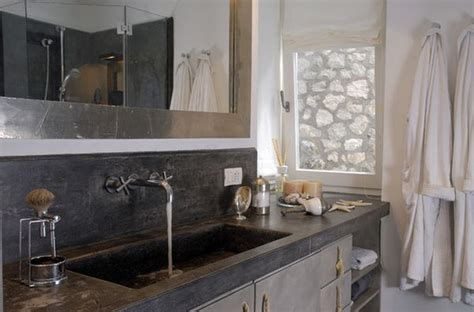 concrete countertops bathroom concrete bathroom sinks that make a strong statement