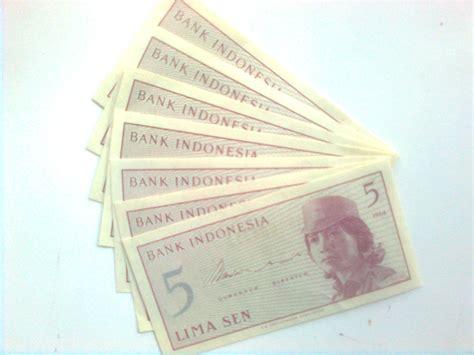 Uang Lama 1 Sen Tahun 1964 Sen Uang Kuno Indonesia