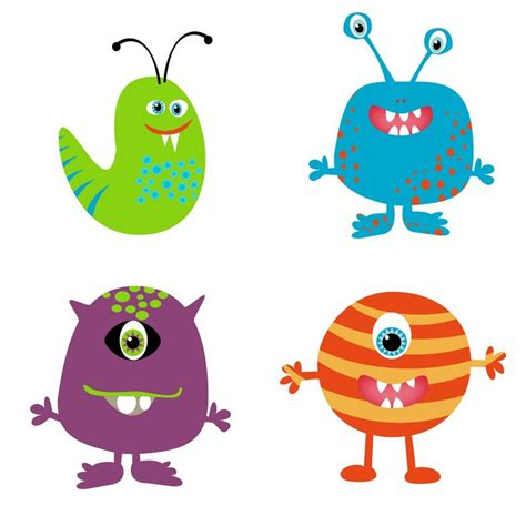 monsters free free clip pictures clipartix