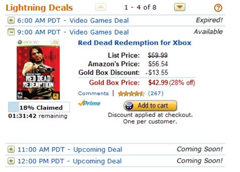 gold box deals todays deals amazoncom movie hd streaming amazon gold box lightning deals xbox 360 super sale