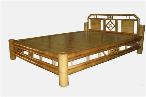 Bamboo Bed Frames Quality Bamboo And Asian Thatch Bamboo Bed Adorn Tropical Bedroom W A Bamboo Bed