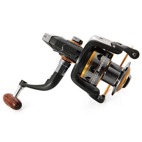 Yumoshi Gulungan Pancing Ef6000 Metal Fishing Spinning Reel 12 Bearing gulungan pancing dk11bb 6000 series metal fishing spinning reel 11 bearing golden