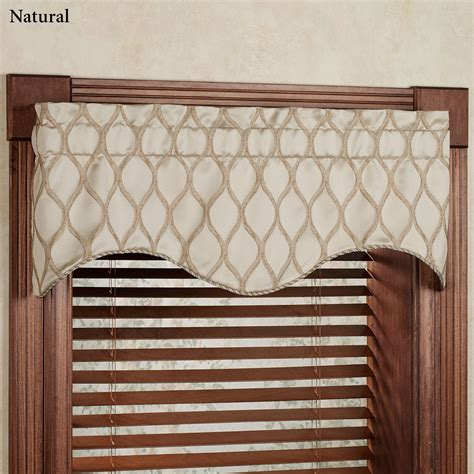 Drapery Valances scalloped window valance