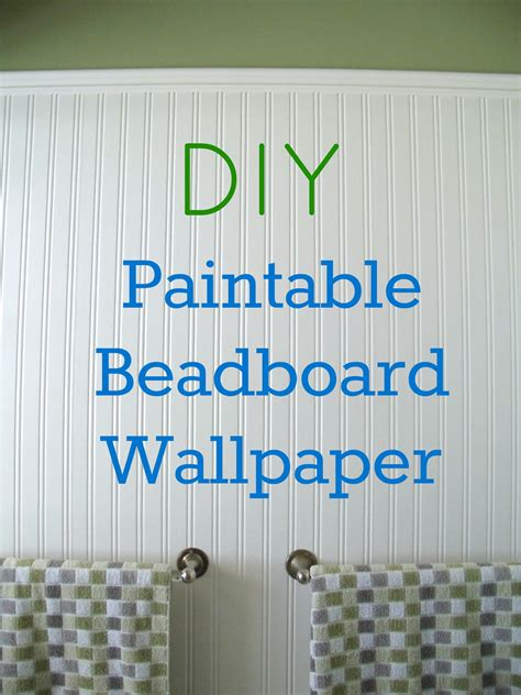 beadboard tapete how to install beadboard paintable wallpaper frugal