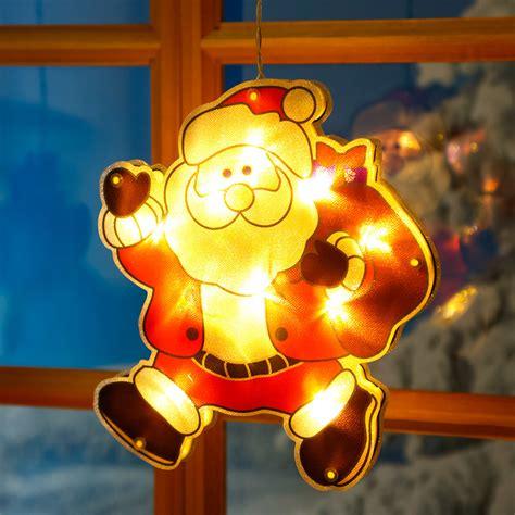 fensterdeko weihnachten led led fensterdeko weihnachtsmann manni kaufen bei