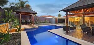 Outdoor Backyard Lighting Ideas Custom Vinyl Lined Swimming Pools Perth Unique Freeform