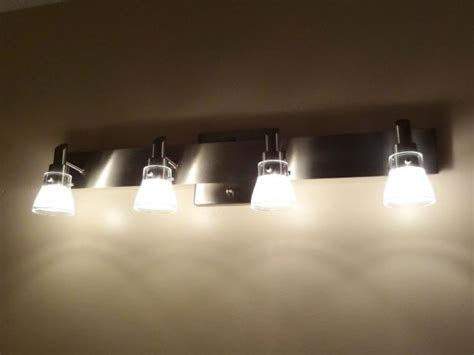 How To Replace A Light Fixture With A Ceiling Fan How To Replace A Bathroom Light Fixture How Tos Diy