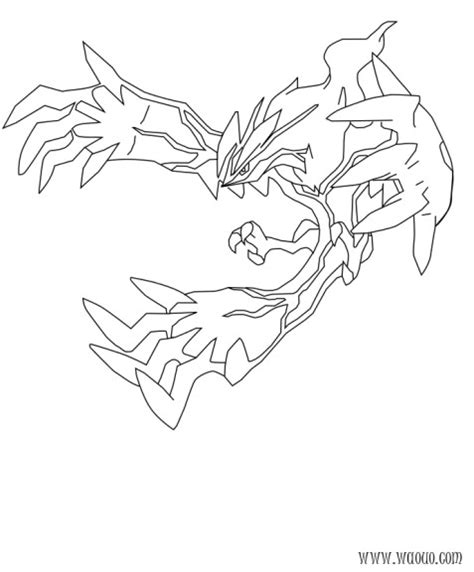 how to draw yveltal pokemon x and y step by step coloriage yveltal pokemon x et y 224 imprimer