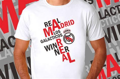 Kaos Oblong Real Madrid Los Blancos kaos real madrid real winnerbisniskaos bisniskaos