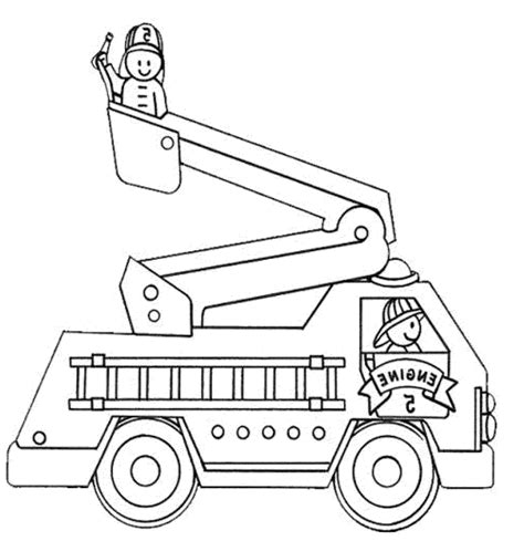 simple fire truck coloring page coloring pages of trucks best of fire truck coloring pages