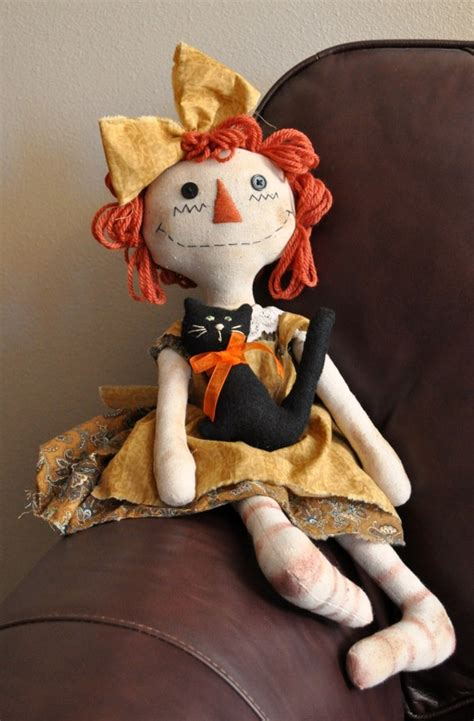 Handmade Raggedy Dolls For Sale - handmade teddy bears and raggedies primitive raggedy
