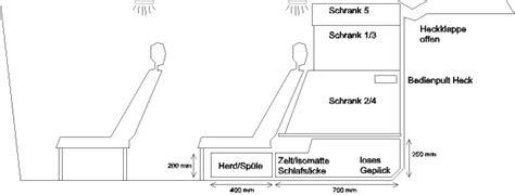 schublade grundriss welche schwerlastausz 252 ge f 252 r heckschublade wohnmobil