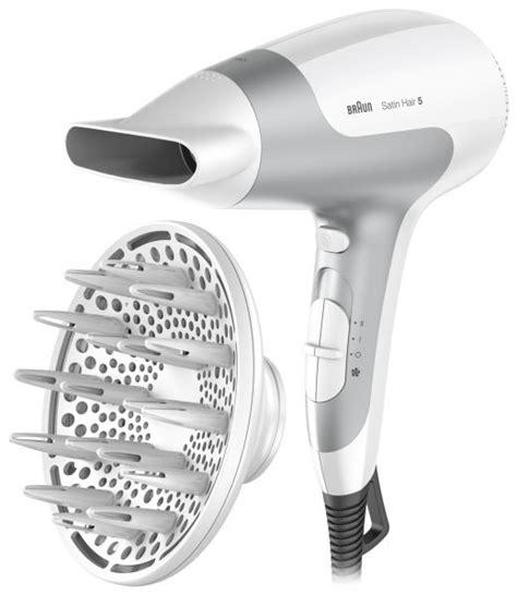 Braun Hair Dryer 7 Review braun satin hair 5 hd585 hair dryer with diffuser and ionic function price review and buy in