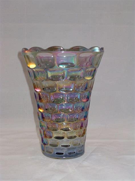 Carnival Glass Vase Patterns by Carnival Glass Vase Federal Glass Yorktown Pattern