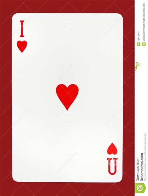 i you cards i you card concept stock images image 12542414