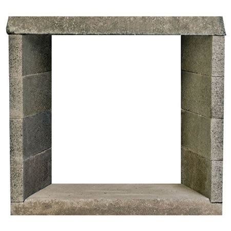 Modular Outdoor Fireplace Systems by 36 Quot Engineered Ventless See Through Masonry Fireplace