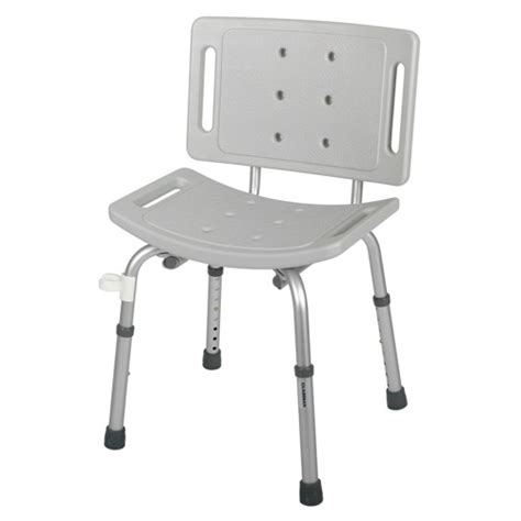 shower bath chair guardian easy care shower chair gray 1 each g30402h