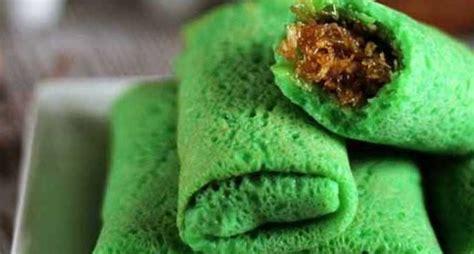 membuat makanan ringan dari tepung yummy ini dia cara membuat manisnya dadar gulung