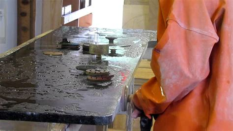 Fabricating Granite Countertops by Fabricating An Uba Tuba Granite Counter Top