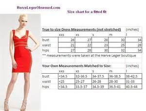herve leger how to determine what size you need herve