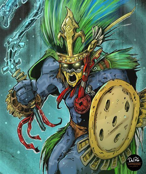 imagenes de dioses aztecas huitzilopochtli by juliodelrio on deviantart