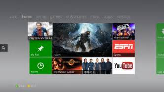 the fall 2012 xbox live dashboard update begins today
