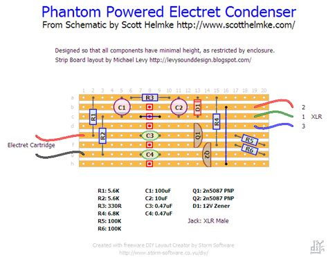 condenser microphone jaycar levy sound design 48v phantom powered electret condenser microphone