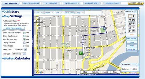 map my run usatf map my run