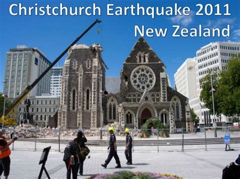 After Mba Courses In New Zealand by Christchurch Earthquake 2011 Medc Study