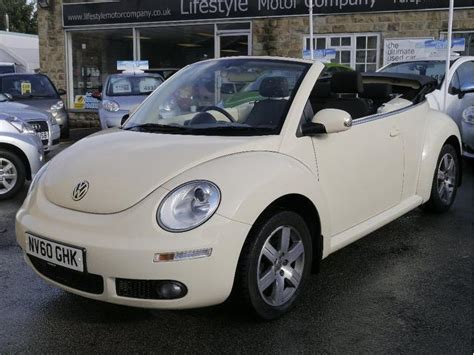 Used Convertible Volkswagen Beetle For Sale by Used Beige Volkswagen Beetle 2010 Petrol 1 6 Sola 2dr