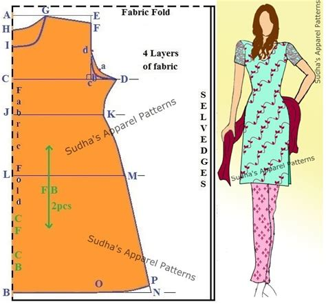 kurtis pattern making sudha s apparel patterns how to make a simple kameez