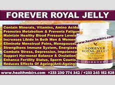 FOREVER ROYAL JELLY HEALTH BENEFITS FOR MEN AND WOMEN ... Royal Jelly Benefits