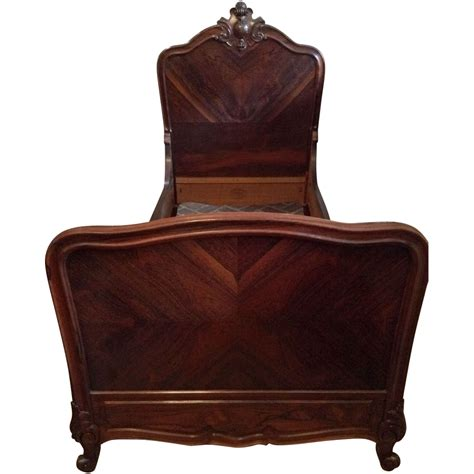 antique twin beds louis xv turn of the century rosewood beds from