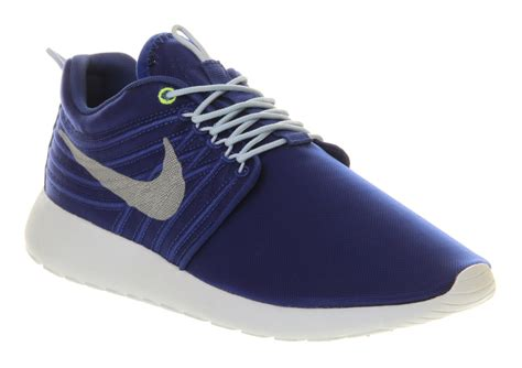 Nike Fly Wire Run nike roshe run hyper blue dynamic flywire in blue for