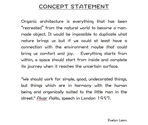 How To Write A Concept Statement For Interior Design by Architecture Design Concept Statement Architecture Design