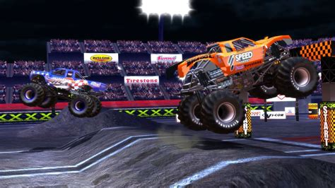 videos of monster trucks monster truck destruction macgamestore com