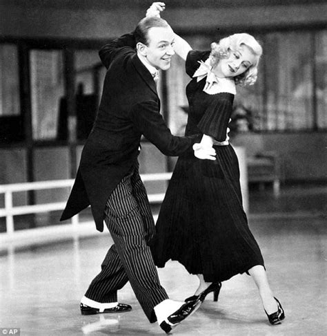 swing time fred astaire a stroppy co star first night nerves and the terror of