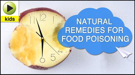 health food poisoning home remedies for