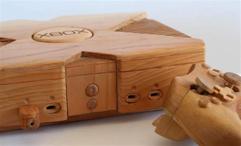 que woodwork wooden xbox when the real console is not enough