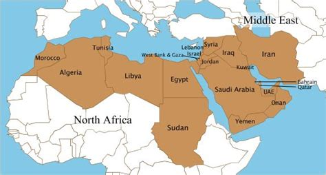 speaking countries in the middle east