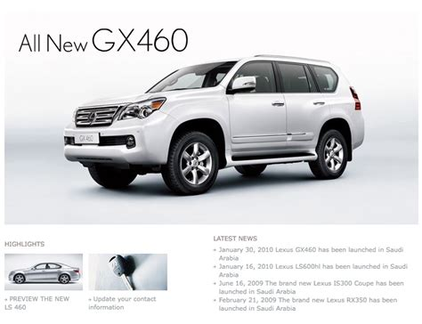lexus ksa uae suspend lexus gx 460 sales what about the saudi