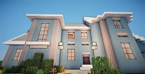 building house ideas suburban house project minecraft house design
