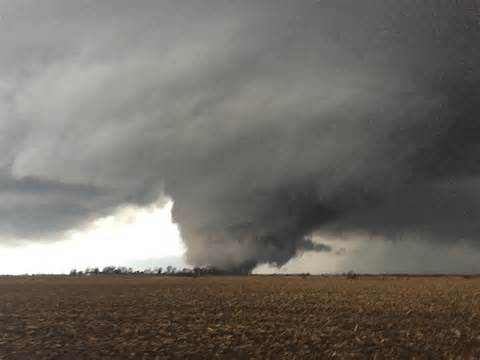 photos of tornadoes spotted across illinois wgn tv