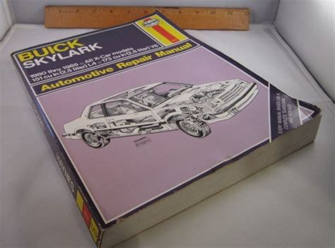 buick skylark x cars 1980 to 1985 haynes automotive repair manual buick buick skylark x cars 1980 to 1985 haynes automotive repair manual buick