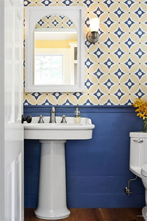 blue and yellow bathroom ideas pics for gt yellow and blue bathroom