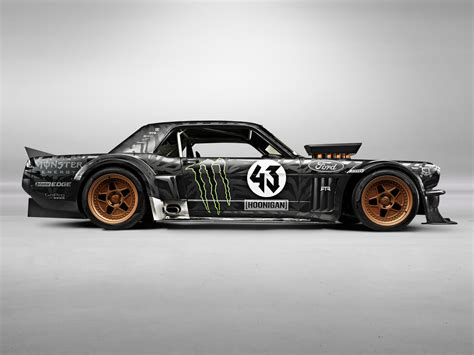 845hp 1965 ford mustang awd is ken block s car for