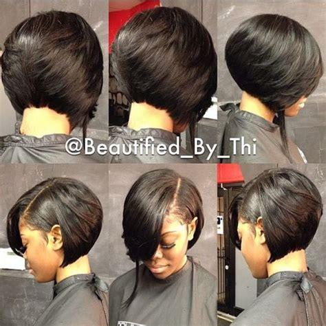 ponytail bob cut instructions carr 233 avec frange simple sur le c 244 t 233 au milieu que