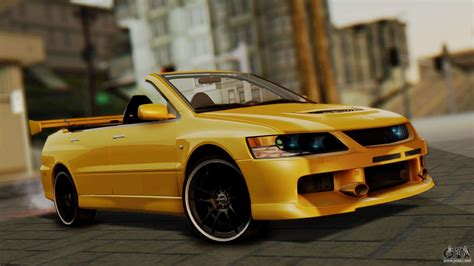 mitsubishi gta mitsubishi lancer evolution 2015 for gta san andreas