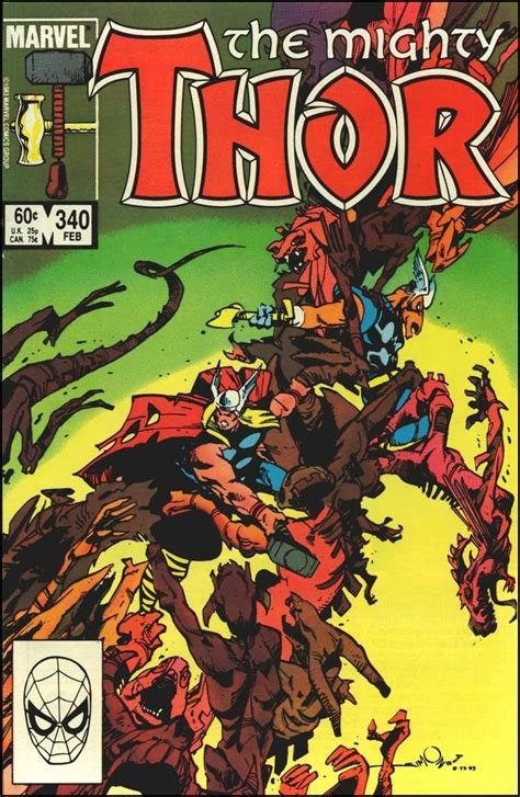 variant walt simonson covers the mighty thor 1 major spoilers comic book reviews news the mighty thor 339 cover by walt simonson art gallery comic book covers