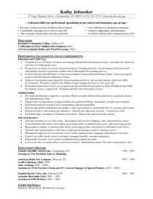 pre primary teacher resume sample job resume samples